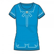 Legend of Zelda: Breath of the Wild Champion's Tunic Jrs. Cosplay T-Shirt