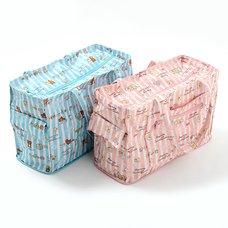 Rilakkuma/Sumikko Gurashi Foldaway Boston Bag
