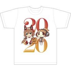 AX Lite x Lis Ani! LIVE T-Shirt A White