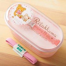 Rilakkuma Pink Chopsticks & Bento Box