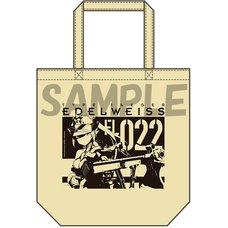 Busou Shinki Fumikane Shimada Artwork Edelweiss Tote Bag