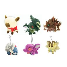 Monster Hunter Plush Set A