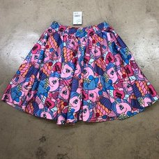 ACDC RAG Cupcake Unicorn Flared Skirt