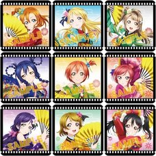 Love Live! School Idol Project Angelic Angel Clear Badge Collection Box Set