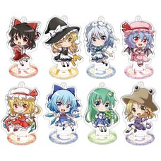 Touhou Project Acrylic Keychain Collection Box Set w/ Stand