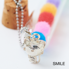 Silver Nyanko Accessories