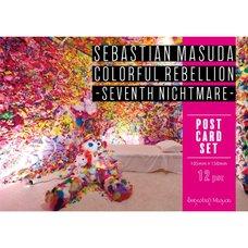6%DOKIDOKI/Sebastian Masuda ART Colorful Rebellion Seventh Nightmare- Postcard Set