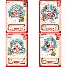 Hatsune Miku x Maneki Neko Collaboration Maneki Miku Acrylic Stand Collection
