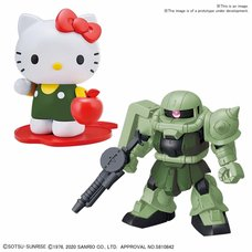 Hello Kitty x SD Gundam Cross Silhouette Zaku II
