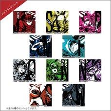 Persona 5 Strikers Square Trading Pin Badge Complete Box Set