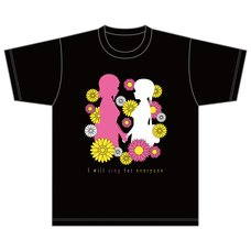 Love Live! Nijigasaki High School Idol Club Nijigasaki High School Store Official Memorial Item Vol. 12: Blooming Wish T-Shirt