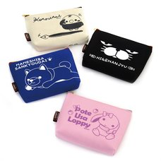 Amuse Characters Trapezoid Pouch Collection