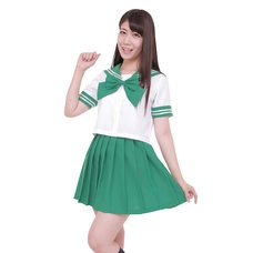 Color Sailor - Sailor Suit Cosplay Outfit (Green)