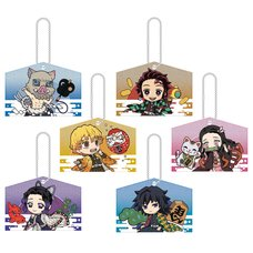 Kirakira Acrylic Mascot Collection Kimetsu no Yaiba: Ema Ver. Box Set
