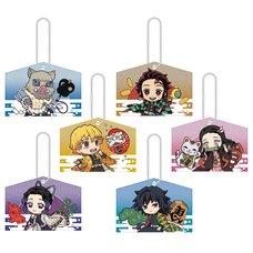 Kirakira Acrylic Mascot Collection Kimetsu no Yaiba: Ema Ver. Box Set