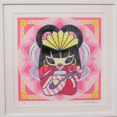 Shibuya Pixel Art Artist Works: Econeko Original Art Print
