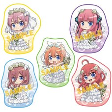 The Quintessential Quintuplets Diecut Mini Towel