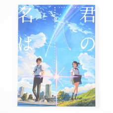 Makoto Shinkai's Film Your Name Official Visual Guide Book