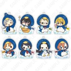 Bungo Stray Dogs Kigurumi Series: Penguins Ver. Acrylic Keychain Collection Box Set