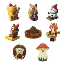 concombre Christmas Day Camp Diorama Collection