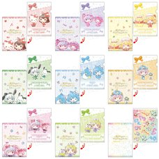 Touhou Project x Sanrio Characters A4-Size Clear File Collection
