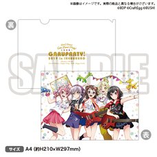 BanG Dream! Girls Band Party! 2019 Anniversary Clear File