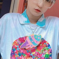 6%DOKIDOKI Yummy Soft-Serve Ice Cream Necklace