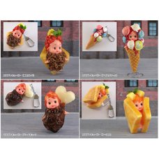 Cosplay Kewpie Keychain Collection