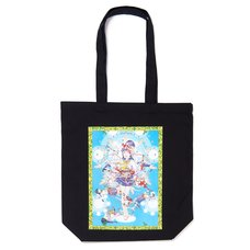 Shintaro Kago Black Tote Bag