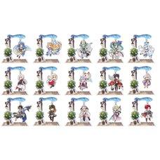 Another Eden Yura Yura Acrylic Stand (4th Anniversary Mini Character Ver.)