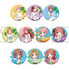 The Quintessential Quintuplets ∬ Character Badge Collection Box Set