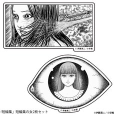 Junji Ito Collection Sticker Set