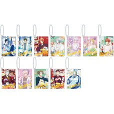IDOLiSH 7 24h Photogenic Life Plate Keychain Collection Box Set