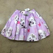 ACDC RAG Hedgehog Flared Skirt