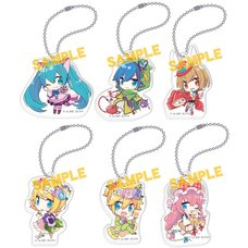 Vocaloid Alice in Wonderland Acrylic Keychain Collection: Yoshiki Ver.