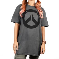 Overwatch Icon Men's Premium Charcoal T-Shirt