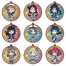 Nendoroid Plus: Love Live! Sunshine!! Collectible Rubber Coaster Keychains: Mirai no Bokura wa Shitteru yo Box Set