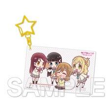 Love Live! Sunshine!! Aqours Riko & Dia & Hanamaru & Mari Acrylic Keychain