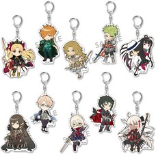 Pikuriru! Fate/Grand Order Trading Acrylic Keychain Charms Vol. 9 Box Set