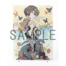 Bungo Stray Dogs Sango Harukawa Artwork Paper Plane Acrylic Art Board