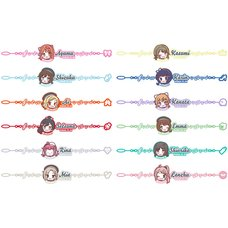 Love Live! Series Presents COUNTDOWN LoveLive! 2021→2022 〜LIVE with a smile!〜 Embroidered Bracelet Vol. 2