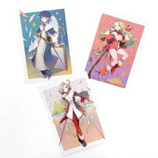 Musketeer Girl Postcards