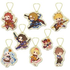 Granblue Fantasy Felt Keychain Collection