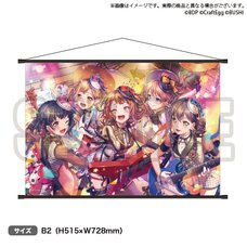 BanG Dream! Girls Band Party! Poppin'Party 6th☆Live B2-Size Tapestry