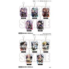 BanG Dream! Roselia x RAISE A SUILEN Rausch und/and Craziness Acrylic Keychain Collection