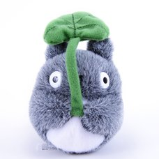 Totoro with Leaf Bean Bag