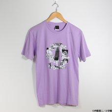 Junji Ito Uzumaki Kirie Goshima Light Purple T-Shirt