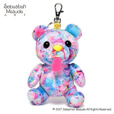6%DOKIDOKI Time After Time Capsule -Bear- #Day Dream Mascot Keychain Charm