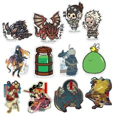 Capcom x B-Side Label Monster Hunter Sticker Collection Vol. 5