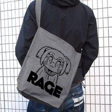 Pop Team Epic Rage Shoulder Tote Bag
